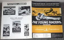 Grand Prix Auto Racing 1963 movie pressbook Lotus original The Young Racers