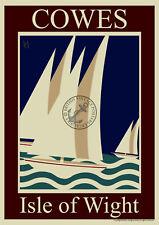 112 Vintage Railway Art Poster Isle Of Wight