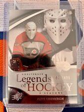 2011-12 SPX Legends Of Hockey Pelle Lindbergh 405/499