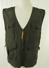 COMPAEN Outdoor-Weste Gr. DE S grün Baumwoll Jacke Vest Gilet Chaleco