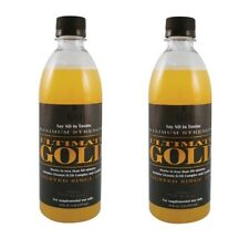 SAVE! BUY 2 Bottles ULTIMATE GOLD 16 OZ DETOX DRINK Works in One Hour! Detoxify