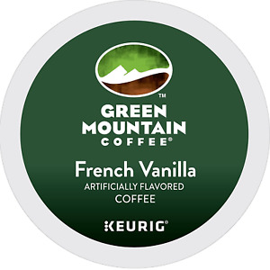 Green Mountain Coffee French Vanilla Keurig K-Cups Coffee, 12 Count