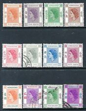 HONG KONG 1954-60 QEII Mint and Used Issues Selection (May 215)
