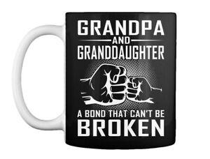 Supersoft Grandpa And Granddaughter Gift Coffee Mug Gift Coffee Mug