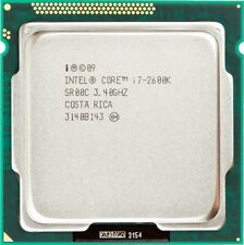 Intel® Core™ i7-2600K 4/8 core, 8 MB cache, 3.80 GHz with cooler