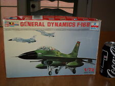 USA - GENERAL DYNAMIC'S --  F-16 B FIGHTER, Plastic Model Plane Kit, Scale: 1/72