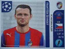 Panini 537 Frantisek sevinsky victoria plzen uefa cl 2011/12