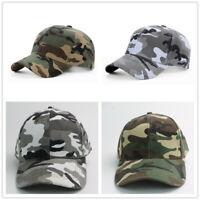 Men Camo Cap Military Hunting Fishing Hat Adjustable Army Baseball Camouflage