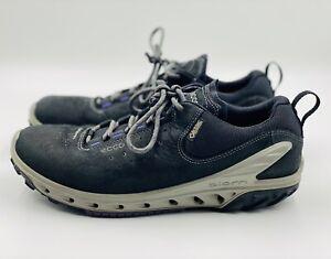 ECCO Women's Biom Venture Gore-Tex Tie Hiking Shoe Sz 6 Black & Purple MSRP $200