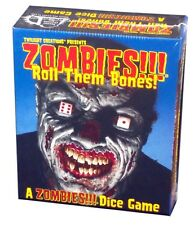 Twilight Creations Inc. Zombies!!! Roll Them Bones! Dice Game, New