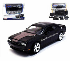 Maisto 1 24 Dodge Challenger Srt8 Diecast Metal Assembly Line Kit Model Car