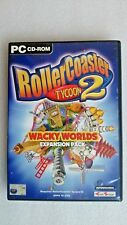Rollercoaster Tycoon 2 - Wacky Worlds (PC Windows 2003) Expansion Pack