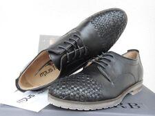 ital. MJUS 361103 DERBY Halbschuhe Business Sneaker schwarz Gr.42 Echtleder NEU