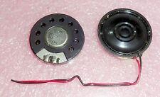 Mini - Lautsprecher Ø30mm 8 Ohm 200mW Speaker VECO 30CS08G ... 2x