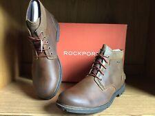 Rockport Rugged Buck II Waterproof Chukka Boot Men Brown Size 12 CH6541