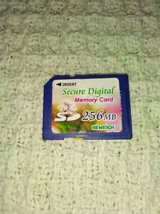 Secure Digital 256MB SD Card - FULL SIZE - FREE POSTAGE!!