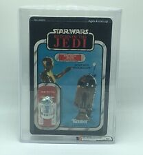 Unpunched Star Wars Return The Jedi R2-D2 Sensorscope AFA 80 NM Graded 65 Back