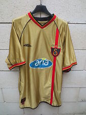 VINTAGE Maillot GALATASARAY shirt UMBRO football trikot maglia XL 2003 third