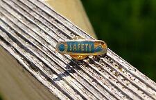 Wal-mart Safety Pin Metal & Enamel Employee Lapel Pinback