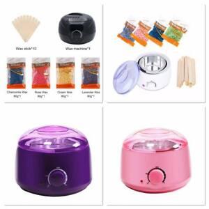 Wax Heater Kit Electric Wax Pot Depilatory 12 sticks and 400 gram beans kit
