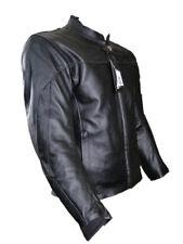 Motorradjacke Jacke Motorrad Lederjacke Motorradbekleidung Basic XXXL