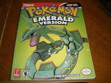 Prima Official Game Guide: Pokemon Emerald Version : Prima Official Game Guid...