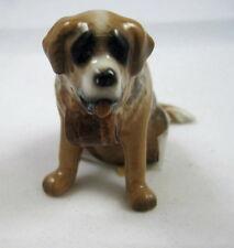 Hagen Renaker miniature made in America Saint Bernard dog retired