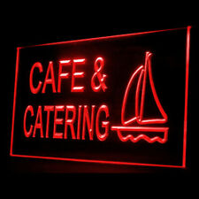 110130 Cafe & Catering Restaurant Pasta Display Led Light Neon Sign