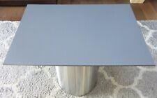 HPL Platte Tischplatte 8mm Steel Grey beidseitig 740 x 505 mm TRESPA® Meteon®