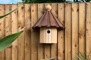 Kirby Bird Box | Dovecote Style Birds House Wooden Hanging Garden Nesting Box