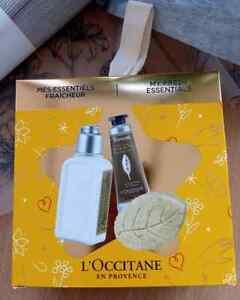 L'Occitane En Provence My Fresh Essentials Gift Tin Set Ladies Hand & Body