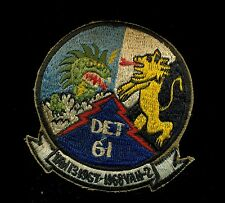 USN Navy VAW-13 VAH-2 Det 61 1967 1968 Patch S-1