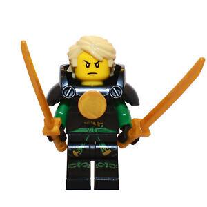 Lego minifigure njo193 Ninjago Lloyd - Skybound with Armor from set 70605 11-10