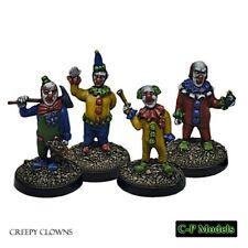 28mm CP Models - Creepy clowns(4) - Night Terrors - NTC18