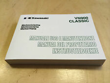 Kawasaki VN 900 Classic Bedienungsanleitung / Fahrerhandbuch (2007)