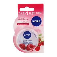 NIVEA Lip Butter Raspberry Rose Framboise Rosee Long-Last 12 Hours Moisture 16.7