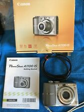Canon PowerShot A1100 IS 12.1MP Digital Camera - Silver