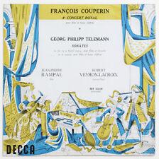 JEAN-PIERRE RAMPAL flute Couperin concert Telemann sonata decca FST 133139 FD LP