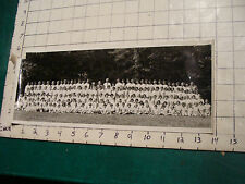 vintage School photo, longer, all girls in white. Kelsey studio Hyannis Mass