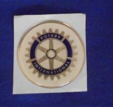 "ROTARY INTERNATIONAL CLUB FULL COLOR 2"" INCH EPOXY DOME CAR DECAL STICKER EMBLEM"