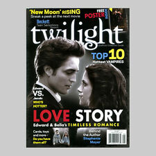 Twilight Magazine Collector Guide Premiere Issue Robert Pattinson Poster
