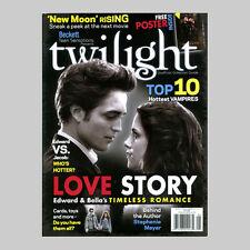Twilight Magazine Collector Guide Premiere Issue Robert Pattinson Poster