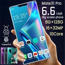 8+128G Mate31 Pro 6.6'' Unlocked Smart Phone Full HD Dual SIM Mobile 4G 4500mAh