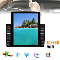 9.7'' 1DIN Android 9.1 Car Stereo Radio MP5 Multimedia Player GPS Wifi Bluetooth