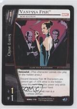2005 Vs System Marvel Knights #Mmk-118 Vanessa Fisk (Mob Matron) Gaming Card 3v2