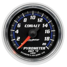 "Auto Meter Boost/Pyrometer Gauge 6145; Cobalt Kit 0 to 2000°F 2-1/16"" Electrical"