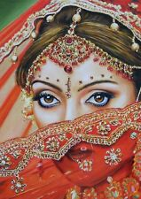 """Bride Eyes"": Original Oil Painting Gift"