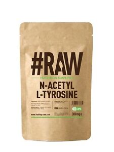 N-Acetyl-L-Tyrosine   NALT   120 x 300mg V Cap UK MADE