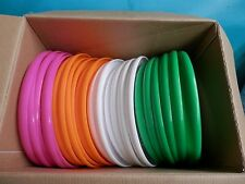 "24 Wham O Frisbee Disc 9"" 51132 Green, Orange, Pink, White  2015 case"