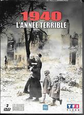 COFFRET 2 DVD--1940 L'ANNEE TERRIBLE - LA BATAILLE DE FRANCE ET D'ANGLETERRE